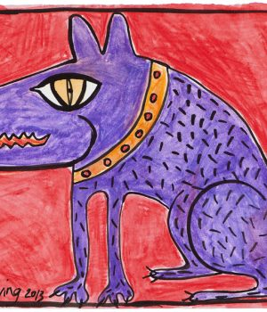 Alvin, The Purple Dog